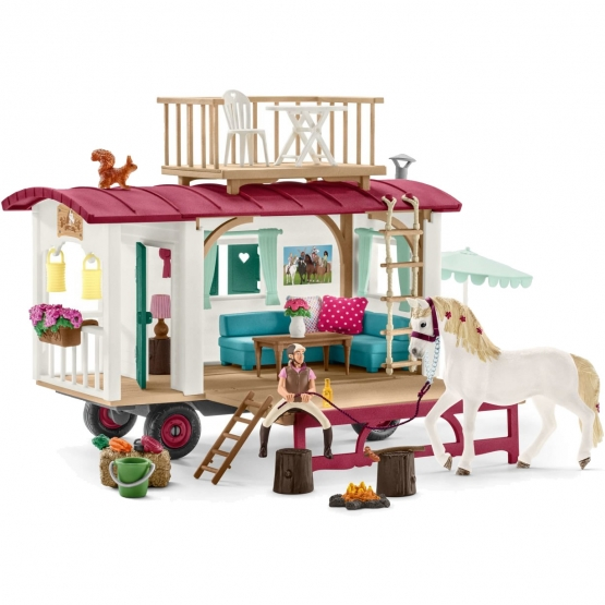 Schleich Camper for secret club meetings