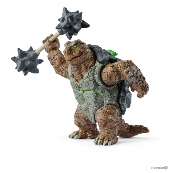 Schleich Cupped toad with Weapon
