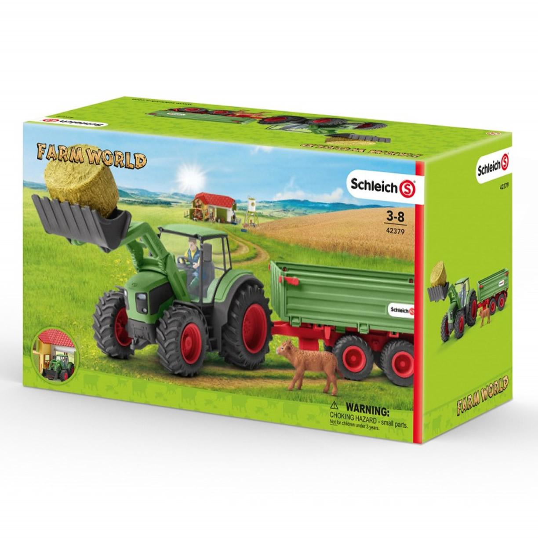 schleich traktor mit anh nger bei schleich schweiz ch kaufen. Black Bedroom Furniture Sets. Home Design Ideas